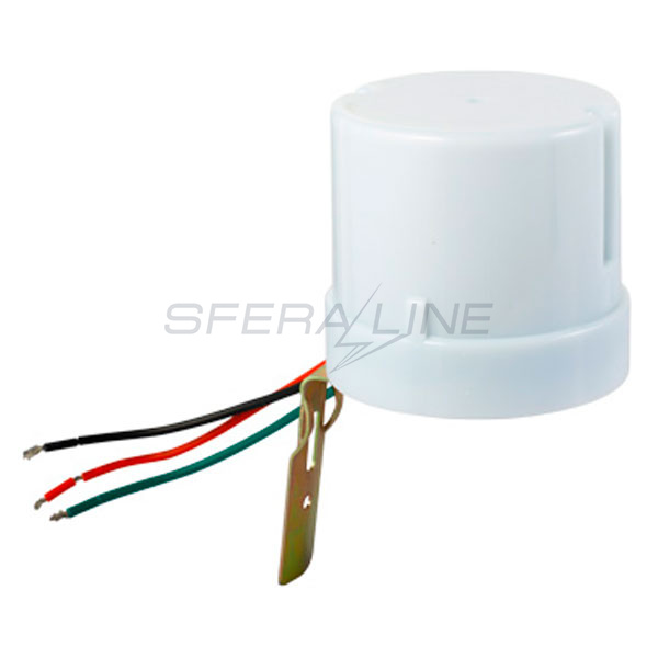 Сумеречное реле e.sensor. light-conrol.303.white, 25А, IP44, E. NEXT